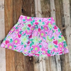 Lilly Pulitzer | Girls heart vintage skirt size 10